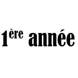 1ère année 112 et 113